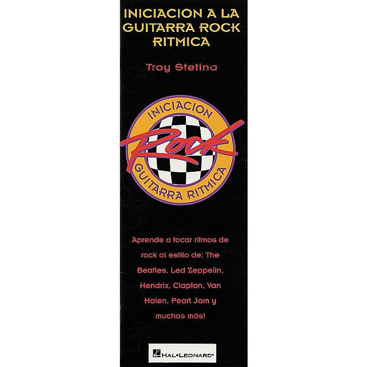 Hal LeonardBeginning Rock Rhythm Guitar Spanish Book