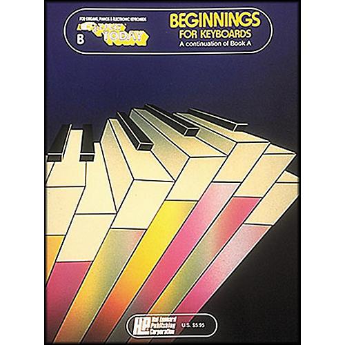 Hal Leonard Beginnings for Keyboards Book B E-Z Play-thumbnail