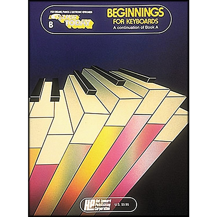 Hal Leonard Beginnings for Keyboards Book B E-Z Play