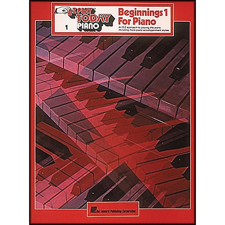 Hal LeonardBeginnings for Piano Volume 1