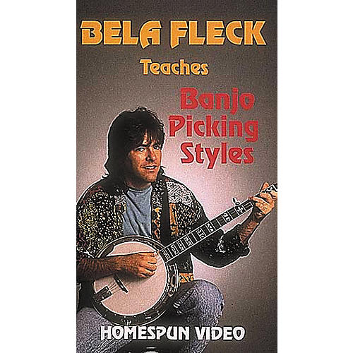 Hal Leonard Bela Fleck Teaches Banjo Picking Styles Video