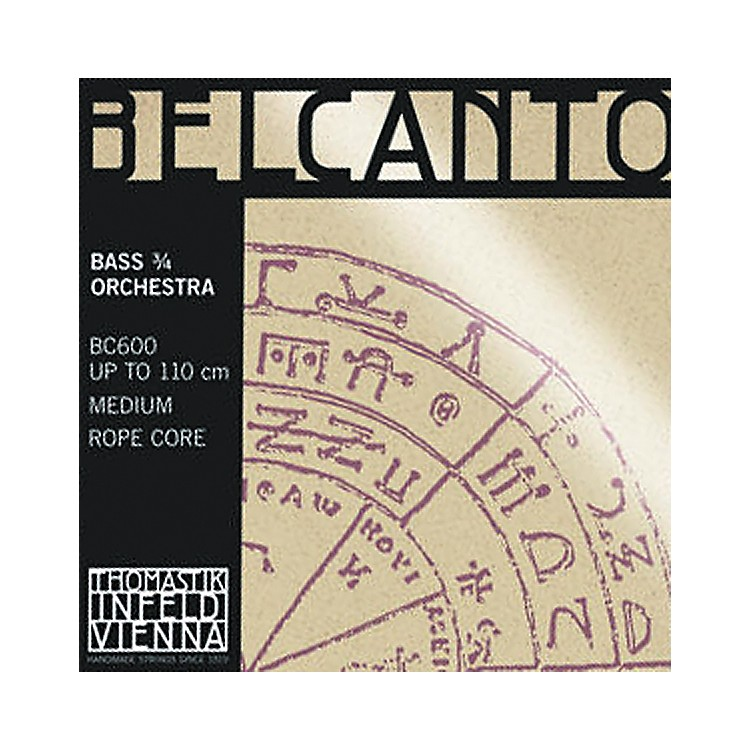 Thomastik Belcanto 3/4 Size Double Bass Strings 3/4 Size E Extension