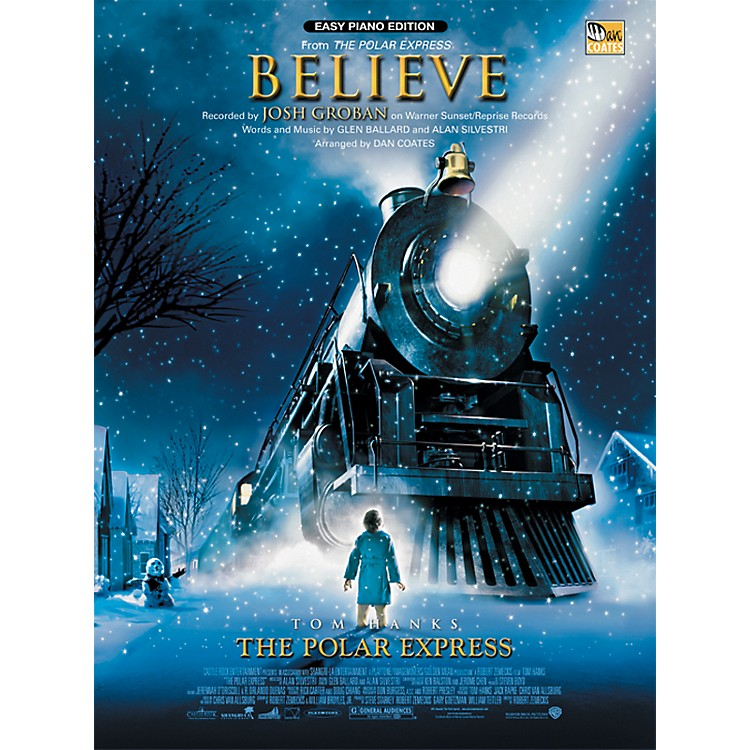 Alfred Believe (from The Polar Express) Easy Piano Sheet