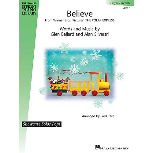 Hal Leonard Believe (from The Polar Express) Piano Library Series by Alan Silvestri (Level Early Inter)-thumbnail