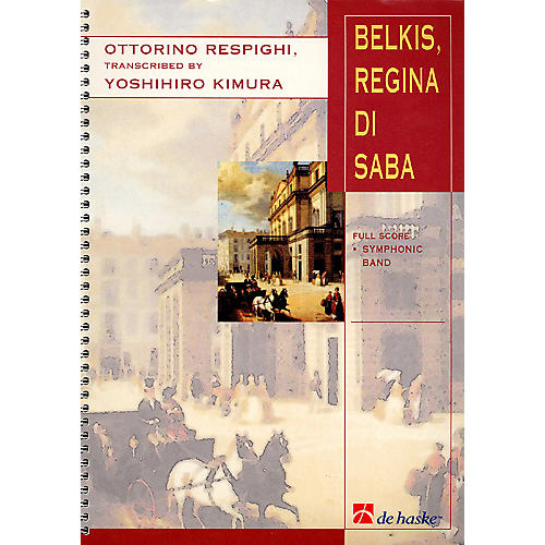 De Haske Music Belkis, Regina Di Saba (Part II) Concert Band Arranged by Yoshihiro Kimura-thumbnail