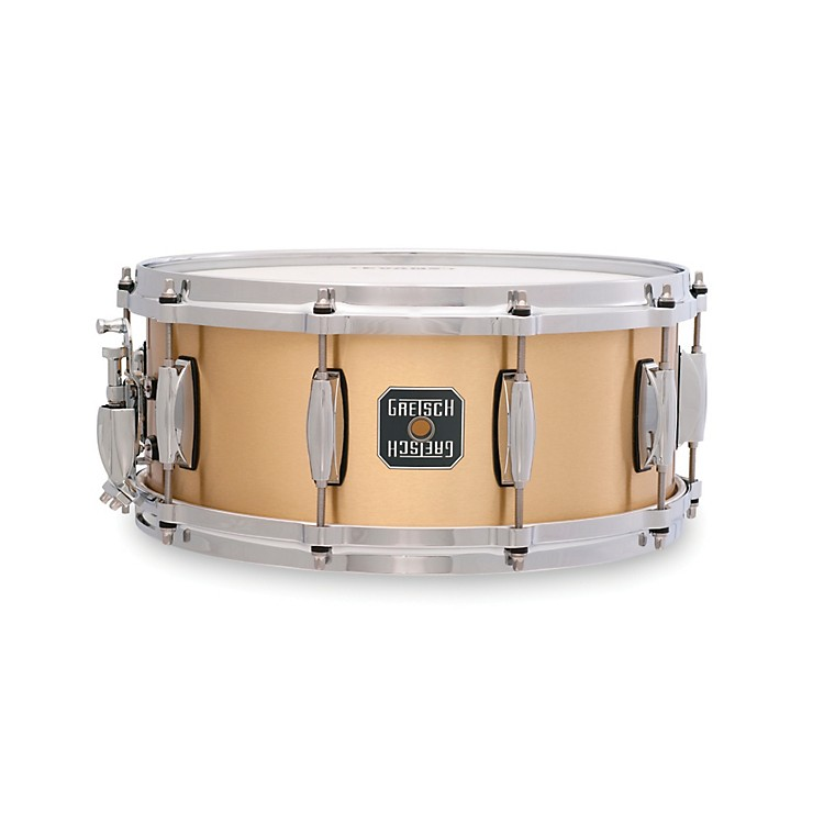 Gretsch Drums Bell Brass 10-Lug Snare Drum 6.5 x 14 Inch
