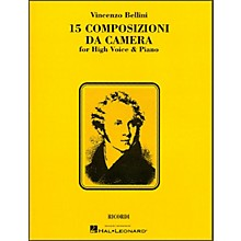Hal Leonard Bellini - 15 Composizioni Da Camera for High Voice