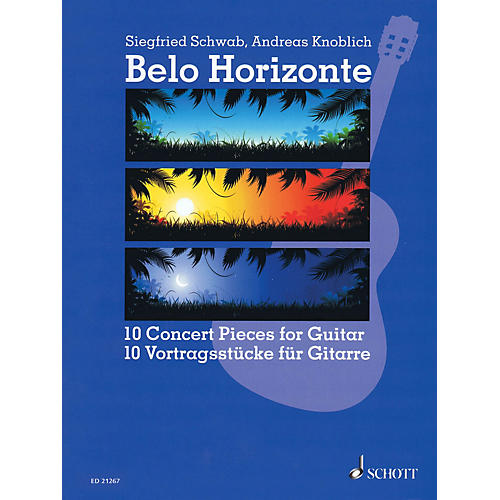 Schott Belo Horizonte (Beautiful Horizon) (10 Concert Pieces for Guitar) Guitar Series Softcover-thumbnail