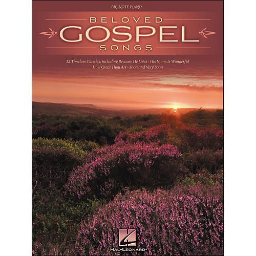 Hal Leonard Beloved Gospel Songs for Big Note Piano