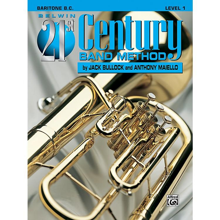 AlfredBelwin 21st Century Band Method Level 1 Baritone B.C. Book
