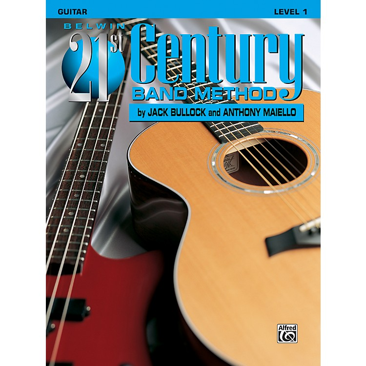 Alfred Belwin 21st Century Band Method Level 1 Guitar Book