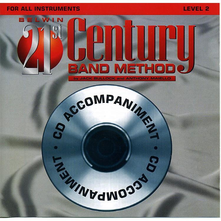AlfredBelwin 21st Century Band Method Level 2 CD