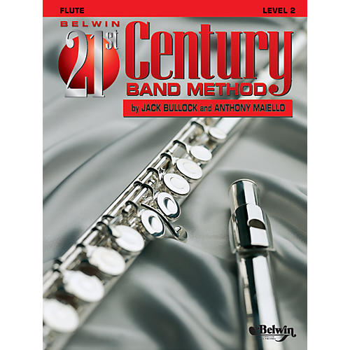 Alfred Belwin 21st Century Band Method Level 2 Flute Book-thumbnail