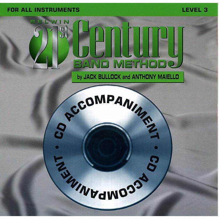AlfredBelwin 21st Century Band Method Level 3 CD