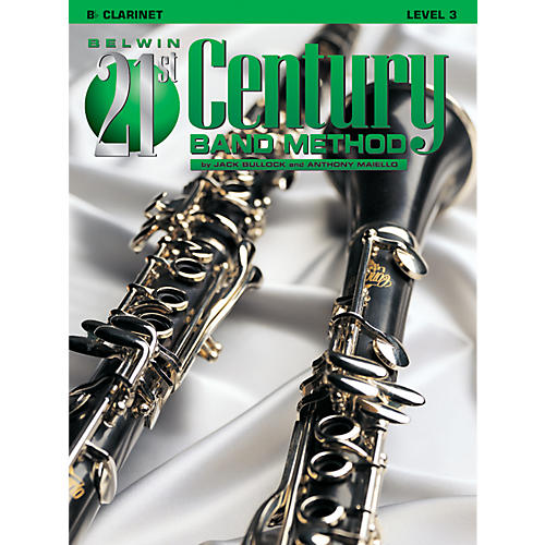 Alfred Belwin 21st Century Band Method Level 3 Clarinet Book-thumbnail