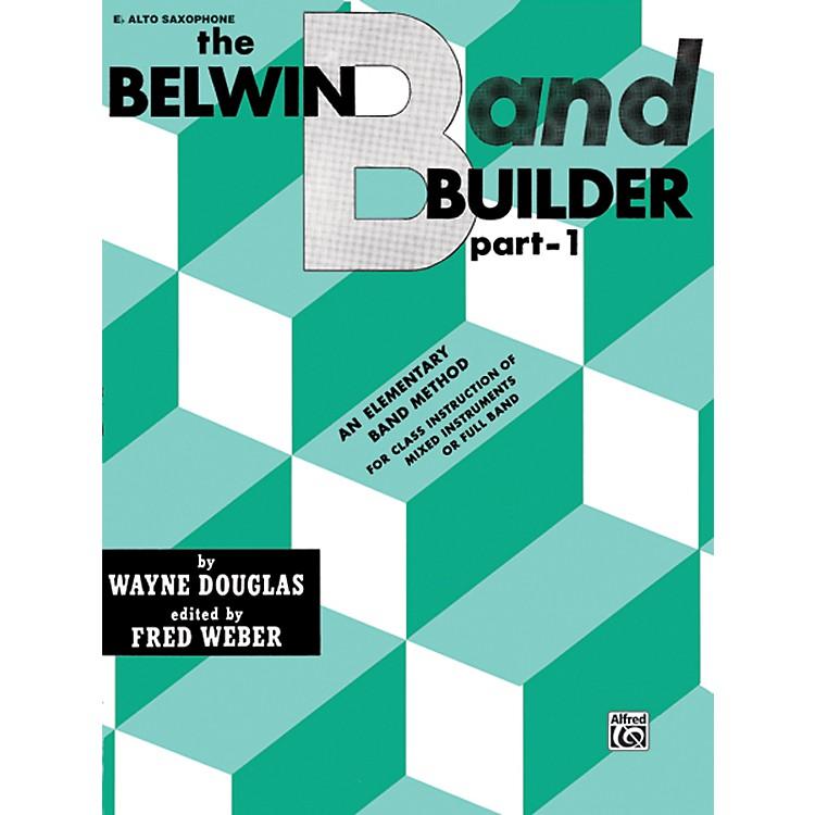 AlfredBelwin Band Builder Part 1 E-Flat Alto Saxophone