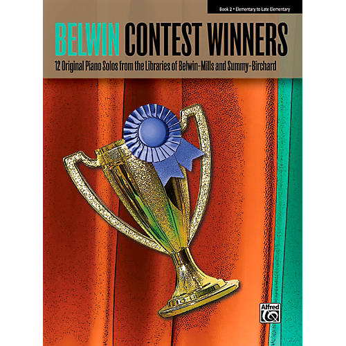 Alfred Belwin Contest Winners Piano Book 2-thumbnail