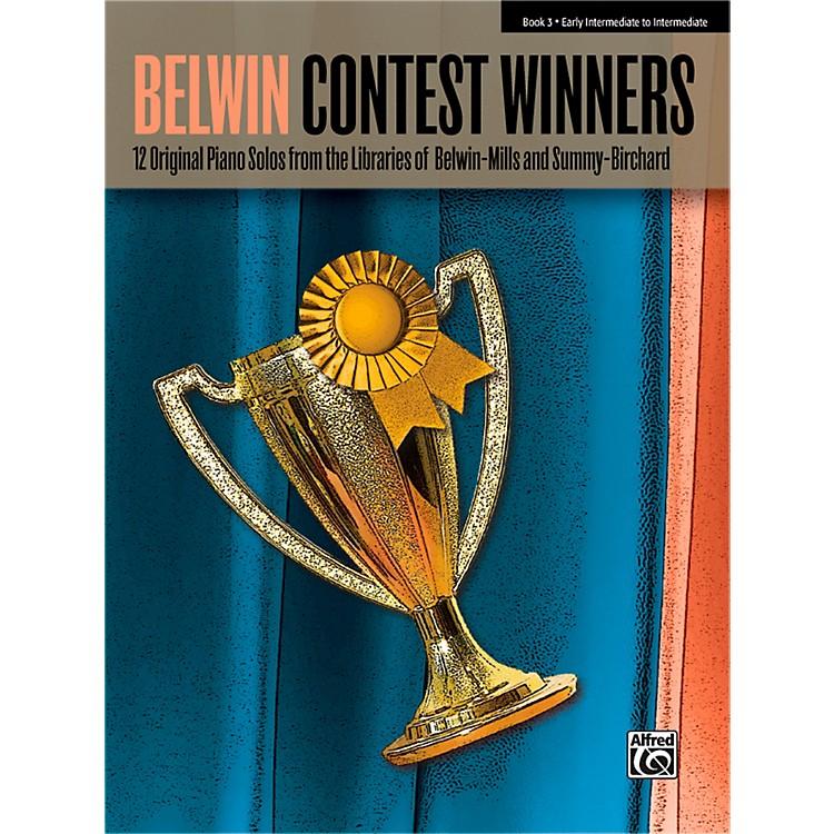 AlfredBelwin Contest Winners Piano Book 3