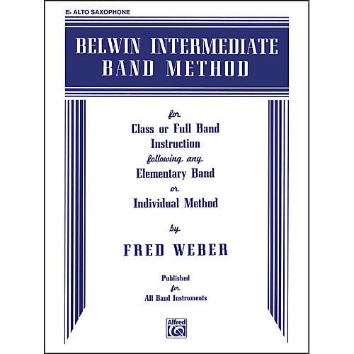 Alfred Belwin Intermediate Band Method E-Flat Alto Saxophone