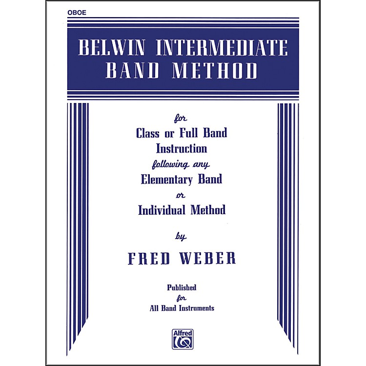 Alfred Belwin Intermediate Band Method Oboe
