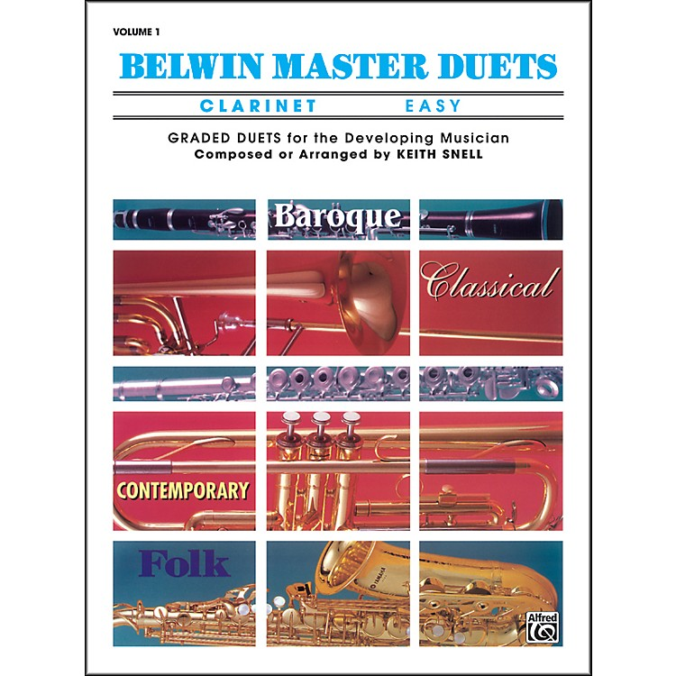AlfredBelwin Master Duets (Clarinet) Easy Volume 1