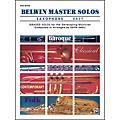 Alfred Belwin Master Solos Volume 1 (Saxophone) Easy Solo Book Only