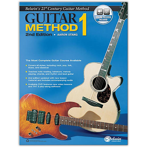 Alfred Belwin's 21st Century Guitar Method 1, Book & Online Audio  2nd Edition-thumbnail