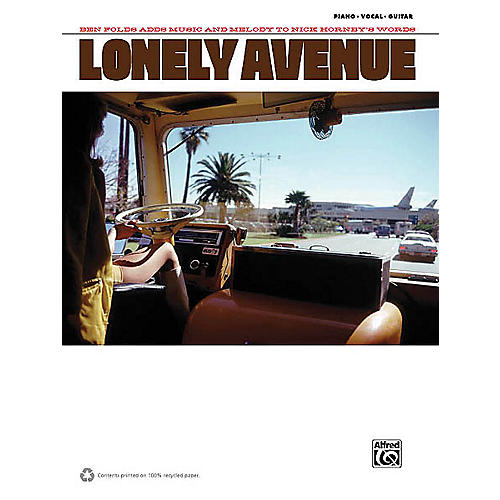Alfred Ben Folds - Lonely Avenue Piano/Vocal/Guitar Artist Songbook Series Softcover Performed by Ben Folds-thumbnail