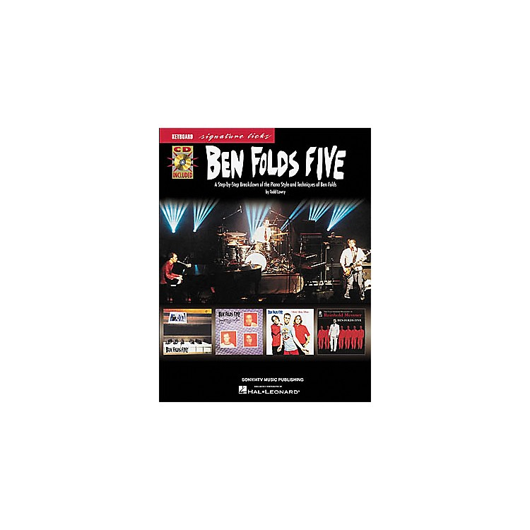 Hal Leonard Ben Folds Five - Keyboard Signature Licks Book with CD
