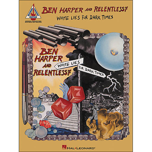 Hal Leonard Ben Harper And Relentless7 - White Lies for Dark Times Tab Book
