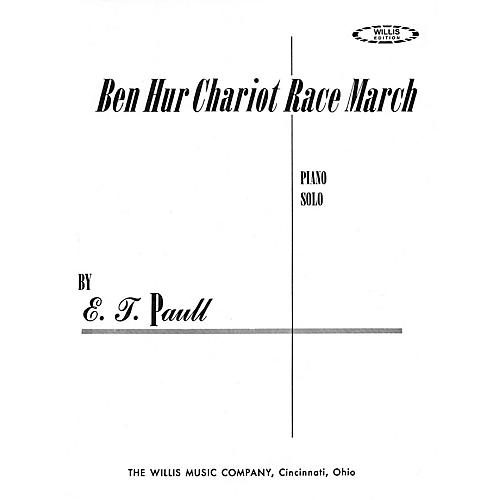 Willis Music Ben Hur Chariot Race March (Later Inter Level) Willis Series by E.T. Paull-thumbnail