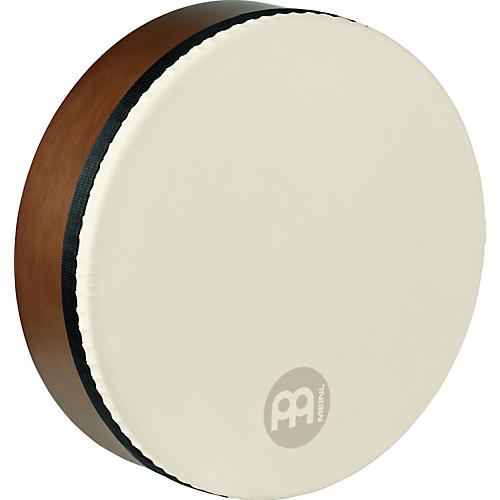 Meinl Bendir with True Feel Synthetic Head AFRICAN BROWN 16 in.-thumbnail