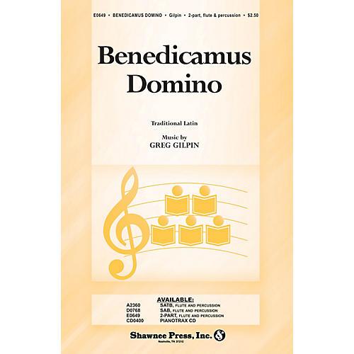 Shawnee Press Benedicamus Domino 2-Part composed by Greg Gilpin-thumbnail