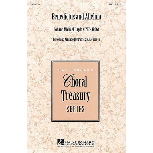 Hal Leonard Benedictus and Alleluia SSA arranged by Patrick M. Liebergen-thumbnail