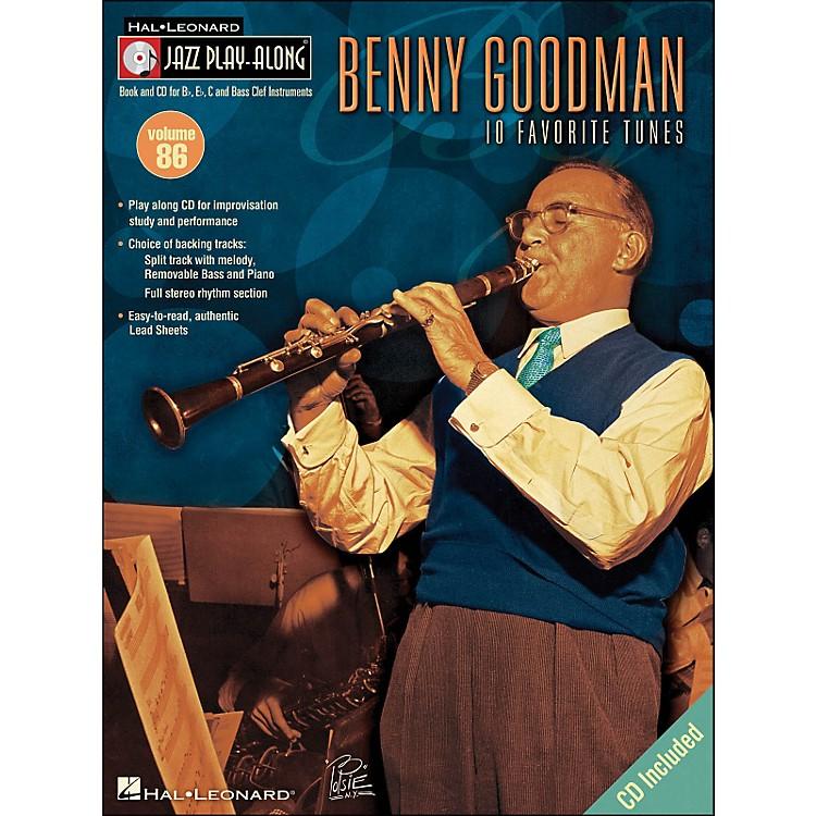 Hal LeonardBenny Goodman - Jazz Play-Along, Volume 86 (CD/Pkg.)