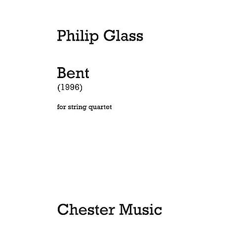 Dunvagen Bent (String Quartet) Music Sales America Series Softcover Composed by Philip Glass-thumbnail