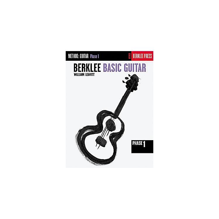 Hal LeonardBerklee Basic Guitar - Phase 1