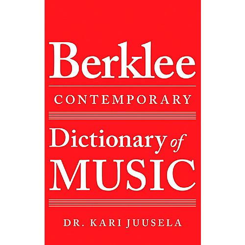 Berklee Press Berklee Contemporary Dictionary of Music-thumbnail
