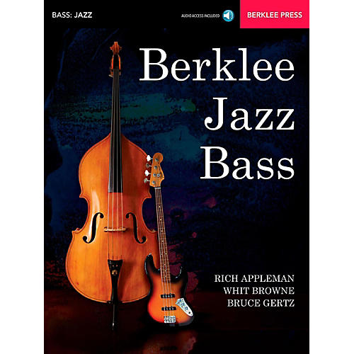 Berklee Press Berklee Jazz Bass Berklee Press Book/Audio Online-thumbnail