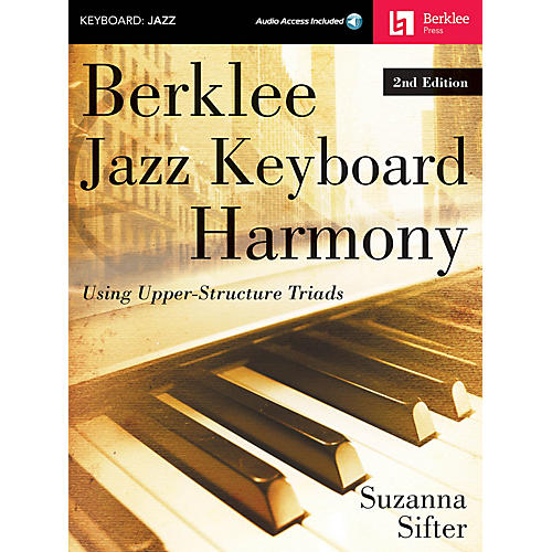 Berklee Press Berklee Jazz Keyboard Harmony - 2nd Edition Berklee Guide Series Softcover Audio Online by Suzanna Sifter-thumbnail