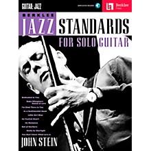 Berklee Press Berklee Jazz Standards For Solo Guitar - Berklee Press Book/Online Audio