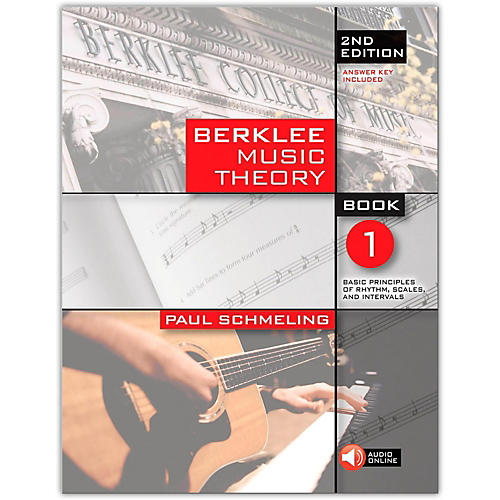 Berklee Press Berklee Music Theory Book 1 (Book/CD) 2nd Edition