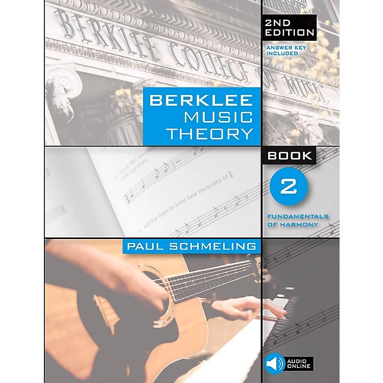 Berklee PressBerklee Music Theory Book 2 (Book/CD) 2nd Edition