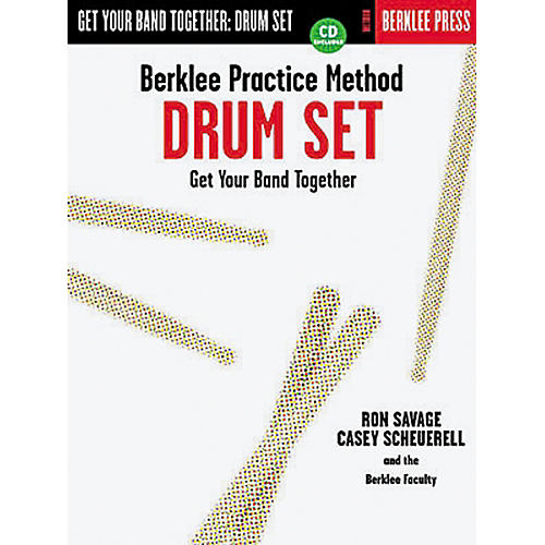 Hal Leonard Berklee Practice Method: Drum Set Book/CD-thumbnail