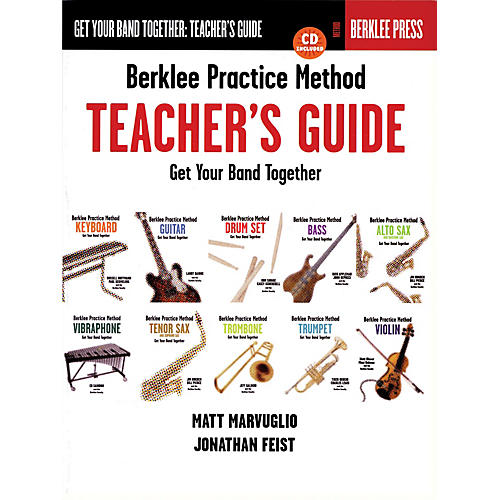 Berklee Press Berklee Practice Method: Teacher's Guide (Get Your Band Together) Berklee Press Series by Jonathan Feist-thumbnail
