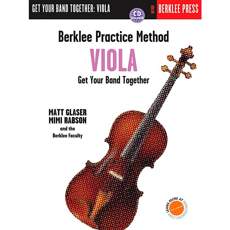 Berklee PressBerklee Practice Method for Viola Book/CD
