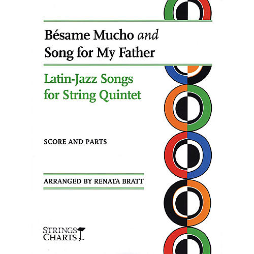 String Letter Publishing Besame Mucho and Song for My Father String Letter Publishing Series Slick Wrap Arranged by Renata Bratt-thumbnail