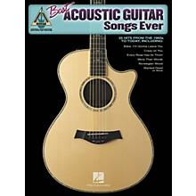 Hal Leonard Best Acoustic Guitar Songs Ever Guitar Tab Songbook