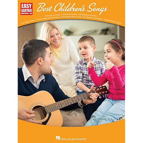 Hal Leonard Best Children's Songs (Easy Guitar with Notes & Tab) Easy Guitar Series Softcover-thumbnail
