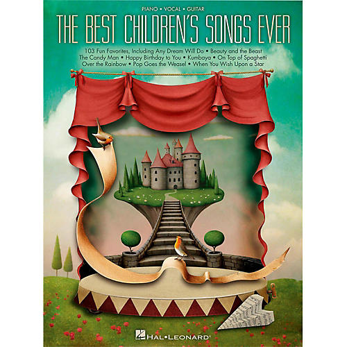 Hal Leonard Best Children's Songs Ever for Piano/Vocal/Guitar